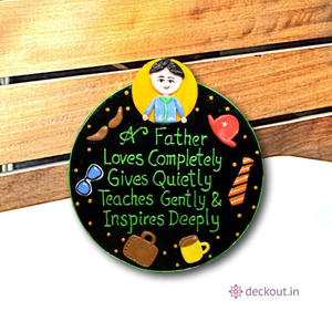 Loving Dad - Message Frame-Message Frame-deckout.in