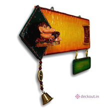 Twin Lateral Ganesh Name Plate-Name Plate-deckout.in