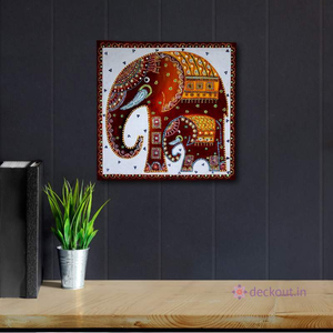 Elephant Dot Art-Painting-deckout.in