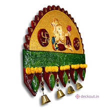 Traditional Ganesha Name Plate-Name Plate-deckout.in