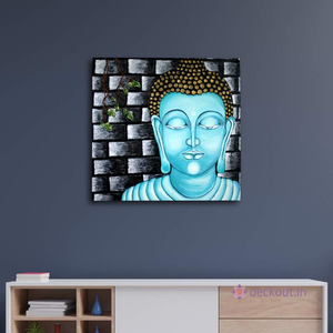 Serene Buddha-Painting-deckout.in
