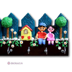 Sweet Home - Key Holder-Key Holder-deckout.in