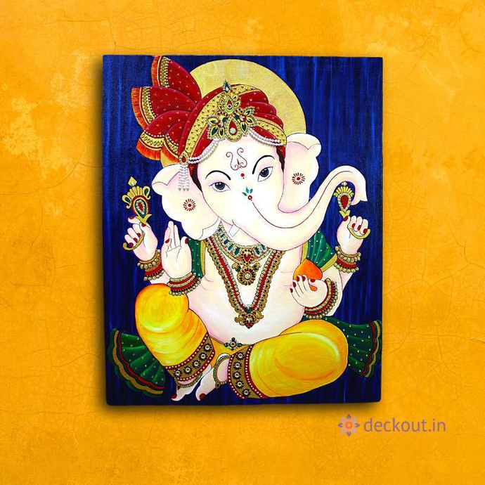 Ganesha Celebration-Painting-deckout.in