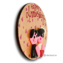 Happy Anniversary - Fridge Magnet-deckout.in