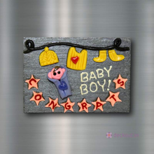 Baby Boy - Fridge Magnet-Fridge Magnet-deckout.in