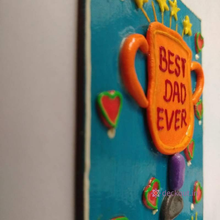 Best Dad - Fridge Magnet-deckout.in