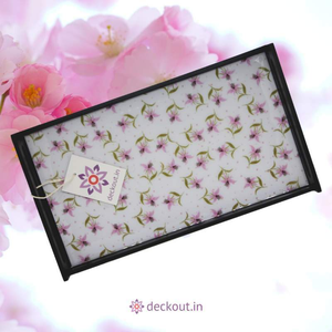 Little Flowers Serving Tray - deckout.in