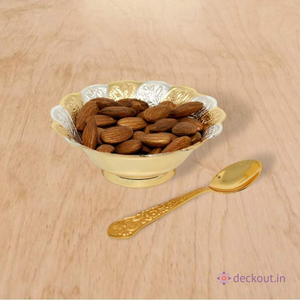 Brass Snack Bowl-deckout.in