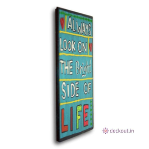 Bright Life - Fridge Magnet-Fridge Magnet-deckout.in