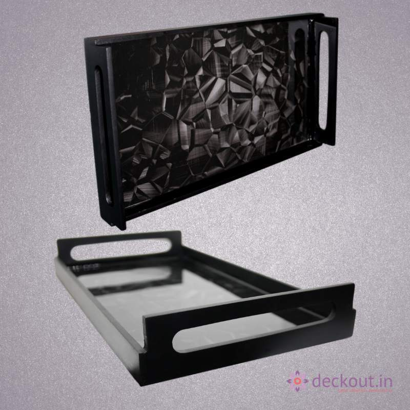 Carbon Serving Tray - deckout.in