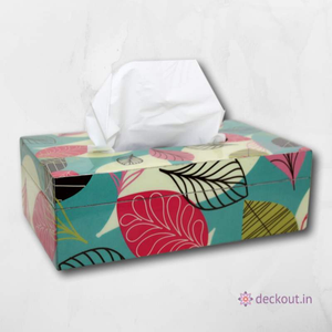 Cherry Leaf Tissue Box-deckout.in