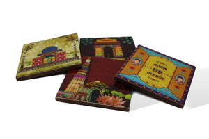India Coasters - Set of 4-deckout.in