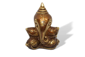 Conch Shell Ganesha-deckout.in