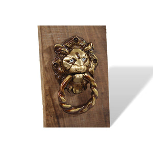 Lion Door Knock - deckout.in