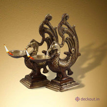 Medium Brass Diya-deckout.in