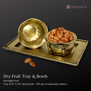 Dry Fruit Bowls & Tray-deckout.in