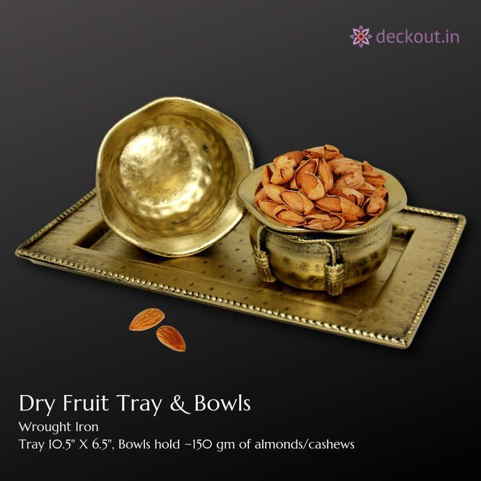 Dry Fruit Bowls & Tray - deckout.in