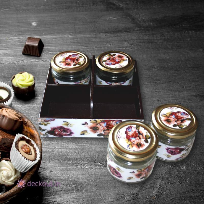 Multipurpose Jars & Holder Set - deckout.in