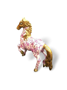 Laminated Brass Horse - deckout.in