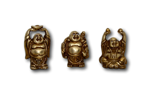 Laughing Buddha - Set of 3-deckout.in