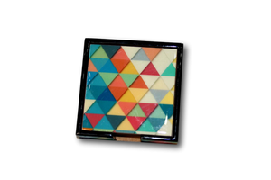 Triangles Coasters - Set of 6-deckout.in