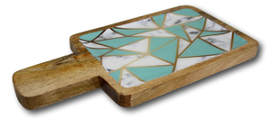 Mango Wood Laminated Rectangular Platters - deckout.in
