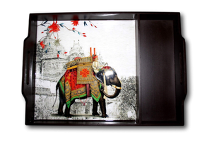 Elephant Fare Serving Tray - deckout.in