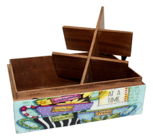 Tea Bag Box - 6 Slot - deckout.in