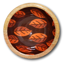Mango Wood Laminated Snack Bowls-deckout.in