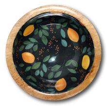 Mango Wood Laminated Snack Bowls - deckout.in