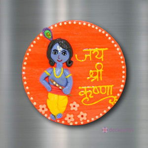 Krishna - Fridge Magnet-Fridge Magnet-deckout.in