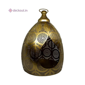 Moroccan Floor Lamp-Candlestand-deckout.in
