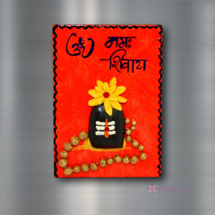 Om Namah Shivay - Fridge Magnet-Fridge Magnet-deckout.in