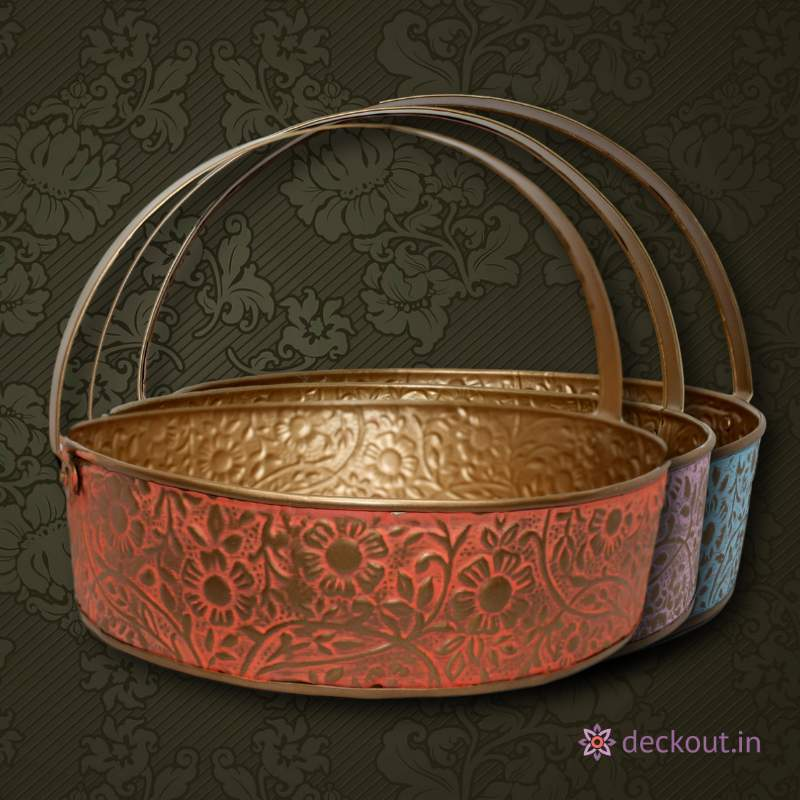 Round Hamper Basket - deckout.in
