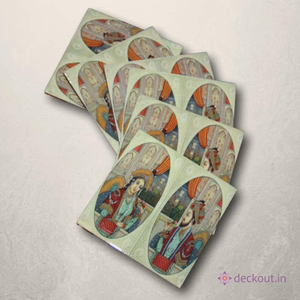 Royal Coasters - Set of 6-deckout.in