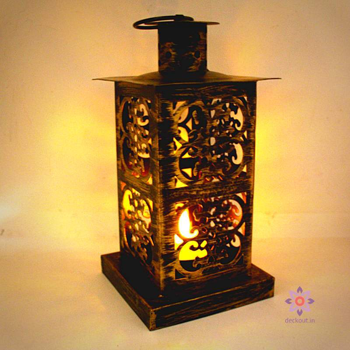 Rustic Lantern - deckout.in