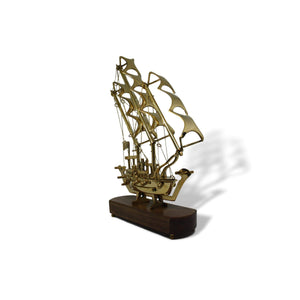 Brass Sails Ship - deckout.in