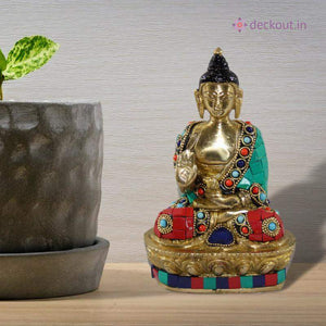 Stone Studded Blessing Buddha-deckout.in