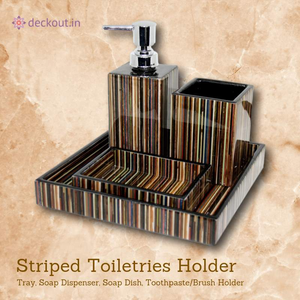 MDF Toiletries Holder - deckout.in