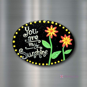 Sunshine - Fridge Magnet-Fridge Magnet-deckout.in