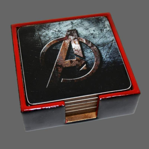 Superhero Coasters - Set of 6-deckout.in