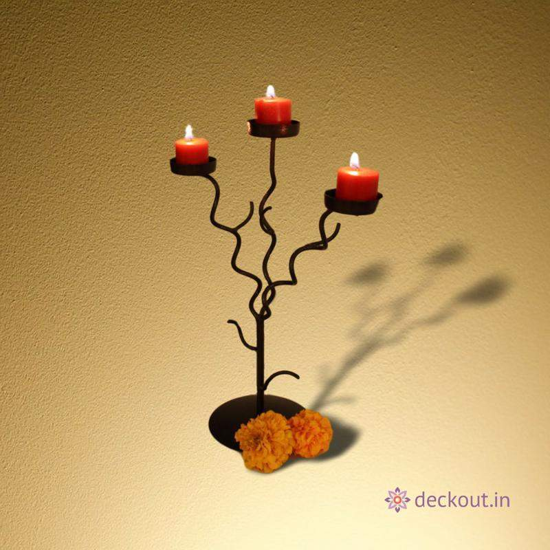 Tree Light Candle Stand-deckout.in