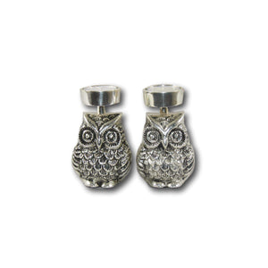 Twin Owls Candle Stand - deckout.in