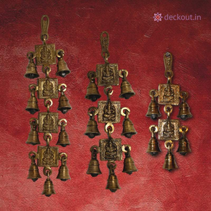 Brass Wall Hanging - Toran Sets-deckout.in