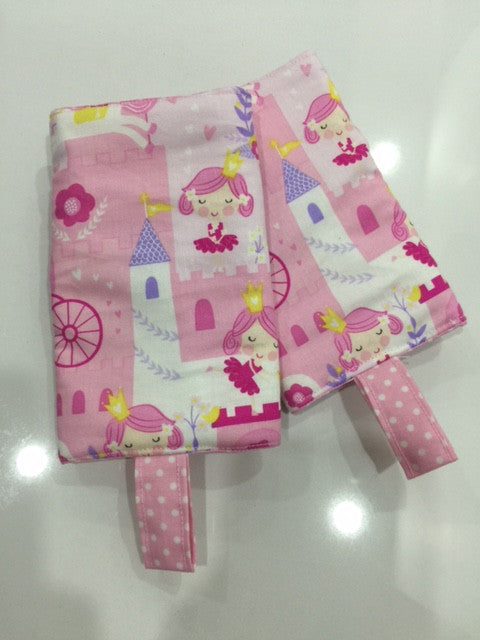 Princess Design Drool Pad from Timeless Treasure