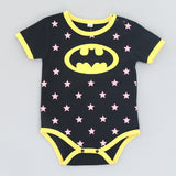 Superhero Short Sleeve Rompers baby clothes