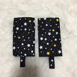 Dots and explorer stars Teething Pad, Carrier Protector