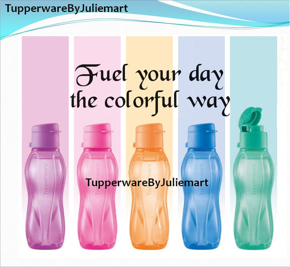 [CUSTOMISE WITH NAME] Tupperware Eco Bottle Flip Cap 310ml Teacher Children Gift