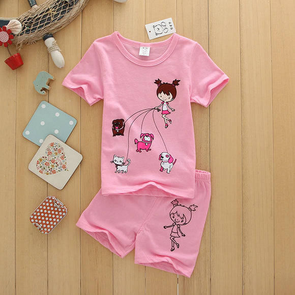 Princess set Shirt and Shorts toddler kids 1-4 yr old Girl Clothes New Arrival
