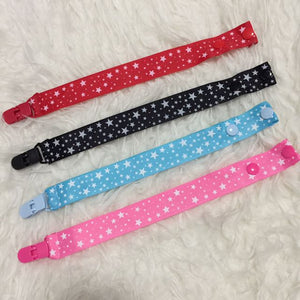 Pacifier Clip Classic Stars